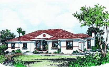 3 Bed, 2 Bath, 2411 Square Foot House Plan - #402-00685