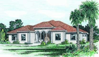 3 Bed, 2 Bath, 2715 Square Foot House Plan - #402-00686