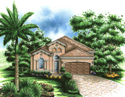 3 Bed, 3 Bath, 1974 Square Foot House Plan - #575-00015