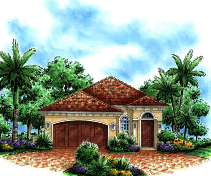3 Bed, 2 Bath, 1896 Square Foot House Plan - #575-00016
