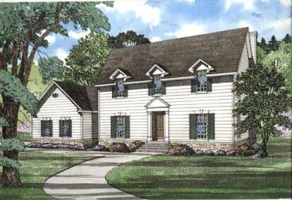 4 Bed, 3 Bath, 3278 Square Foot House Plan - #110-00224