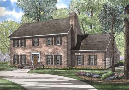 4 Bed, 2 Bath, 3661 Square Foot House Plan - #110-00231