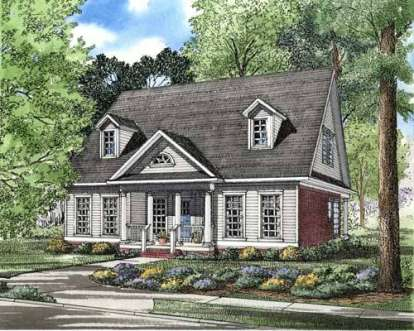 3 Bed, 2 Bath, 2140 Square Foot House Plan - #110-00233