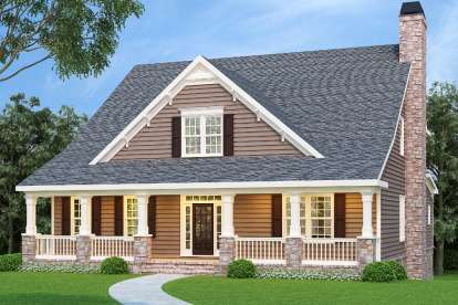 5 Bed, 4 Bath, 3525 Square Foot House Plan - #009-00031