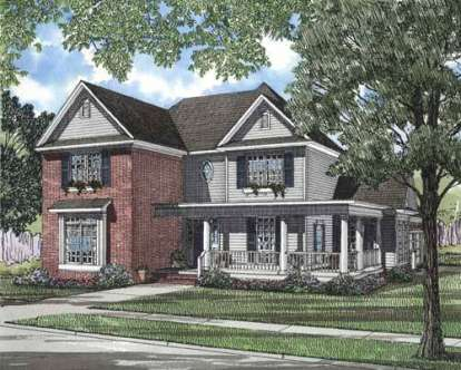 4 Bed, 2 Bath, 2676 Square Foot House Plan - #110-00251