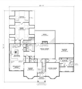 Floorplan 2 for House Plan #110-00256