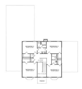 Floorplan 3 for House Plan #110-00256