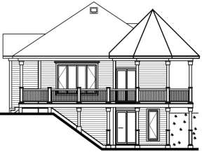 Cottage House Plan #034-00093 Elevation Photo