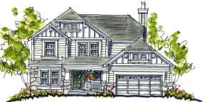 Craftsman House Plan #402-00847 Elevation Photo