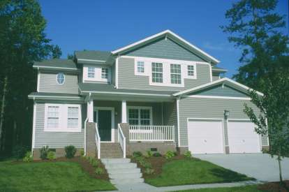 4 Bed, 2 Bath, 2705 Square Foot House Plan - #402-00859