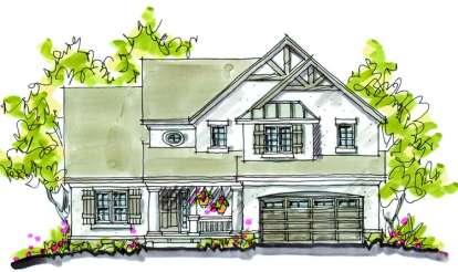 4 Bed, 2 Bath, 2265 Square Foot House Plan - #402-00868
