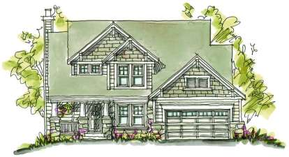 3 Bed, 3 Bath, 2061 Square Foot House Plan - #402-00873