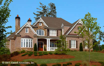 4 Bed, 4 Bath, 4353 Square Foot House Plan - #699-00001