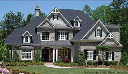 5 Bed, 4 Bath, 4496 Square Foot House Plan - #699-00004