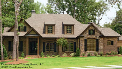 4 Bed, 3 Bath, 3484 Square Foot House Plan - #699-00005