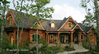 5 Bed, 5 Bath, 8447 Square Foot House Plan - #699-00019