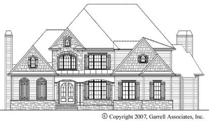 4 Bed, 3 Bath, 3182 Square Foot House Plan - #699-00024