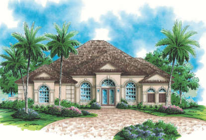 3 Bed, 3 Bath, 2897 Square Foot House Plan - #575-00064