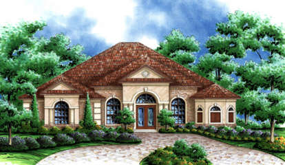 3 Bed, 3 Bath, 2878 Square Foot House Plan - #575-00065