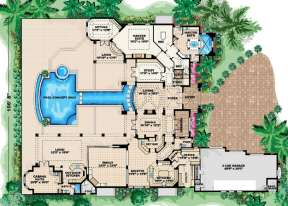Floorplan 1 for House Plan #575-00072