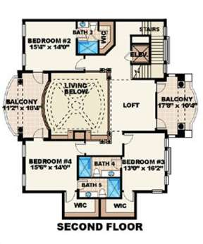 Floorplan 2 for House Plan #575-00072