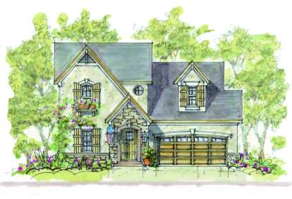 3 Bed, 3 Bath, 1928 Square Foot House Plan - #402-00887