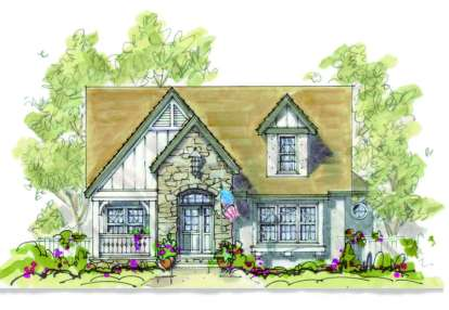 4 Bed, 3 Bath, 2173 Square Foot House Plan - #402-00896
