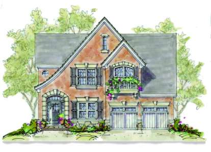 3 Bed, 2 Bath, 2051 Square Foot House Plan - #402-00905