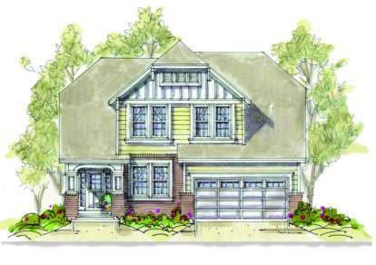 3 Bed, 2 Bath, 2060 Square Foot House Plan - #402-00906