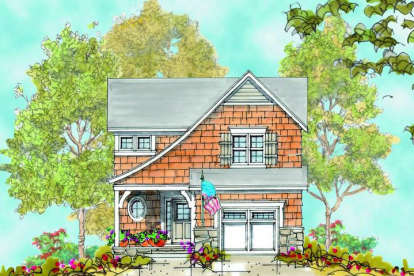 3 Bed, 2 Bath, 1540 Square Foot House Plan #402-00913