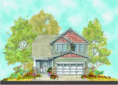 3 Bed, 2 Bath, 1774 Square Foot House Plan - #402-00916