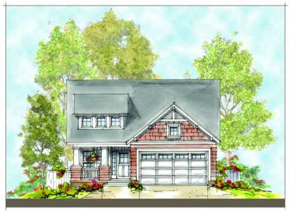 3 Bed, 3 Bath, 2045 Square Foot House Plan - #402-00917