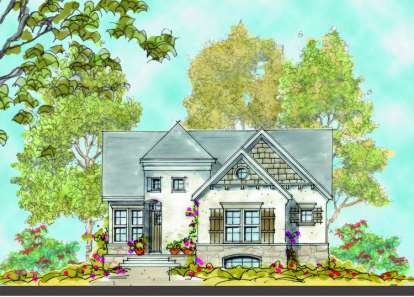 3 Bed, 2 Bath, 1545 Square Foot House Plan - #402-00919