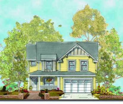 4 Bed, 2 Bath, 2308 Square Foot House Plan - #402-00931
