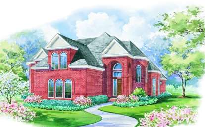 4 Bed, 3 Bath, 4500 Square Foot House Plan - #402-00944