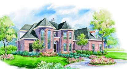 4 Bed, 4 Bath, 4500 Square Foot House Plan - #402-00966