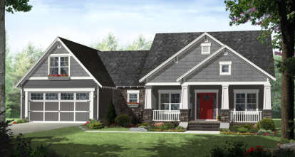 4 Bed, 2 Bath, 2199 Square Foot House Plan - #348-00196