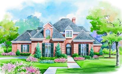 4 Bed, 3 Bath, 4403 Square Foot House Plan - #402-00982