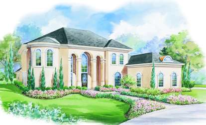 4 Bed, 3 Bath, 3894 Square Foot House Plan - #402-00984