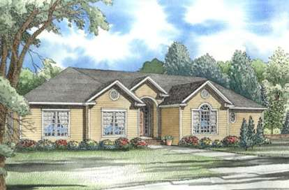 4 Bed, 3 Bath, 3052 Square Foot House Plan - #110-00288