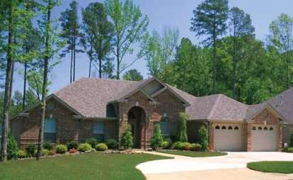 4 Bed, 2 Bath, 2554 Square Foot House Plan - #110-00292