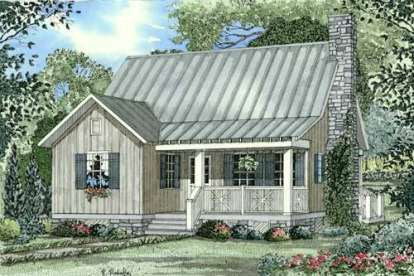 2 Bed, 2 Bath, 1178 Square Foot House Plan - #110-00312