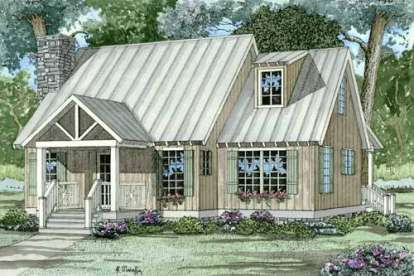 2 Bed, 2 Bath, 1425 Square Foot House Plan - #110-00313