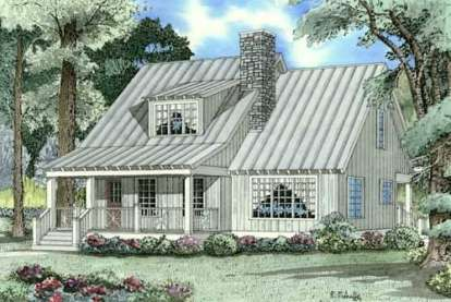 2 Bed, 2 Bath, 1542 Square Foot House Plan - #110-00314