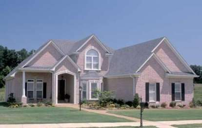 3 Bed, 3 Bath, 2949 Square Foot House Plan - #110-00315