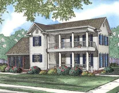 4 Bed, 2 Bath, 1701 Square Foot House Plan - #110-00318