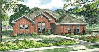 4 Bed, 2 Bath, 1950 Square Foot House Plan - #110-00326