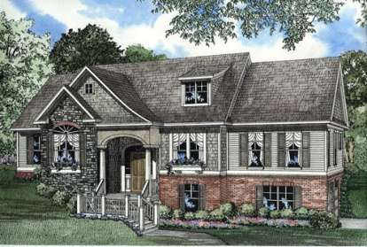 4 Bed, 2 Bath, 2495 Square Foot House Plan #110-00335
