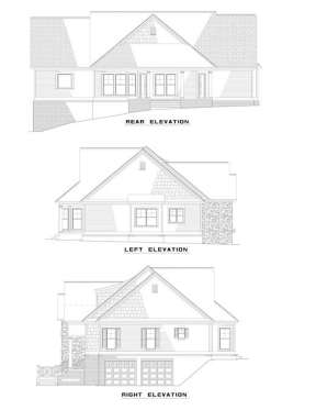 Traditional House Plan #110-00335 Elevation Photo