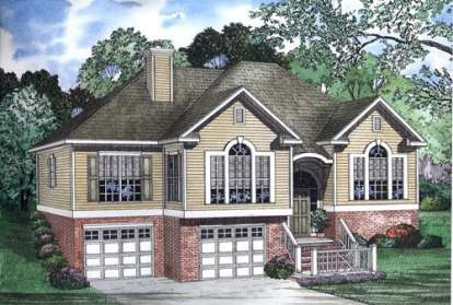 3 Bed, 2 Bath, 1764 Square Foot House Plan - #110-00336